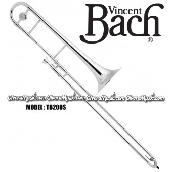 BACH Intermediate Slide Tenor Trombone - Silver Plate Finish