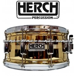 HERCH Snare 14x6.5 Gold Color 10-Lug