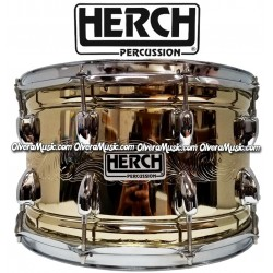 HERCH Snare 14x8 Engraved 10-Lug