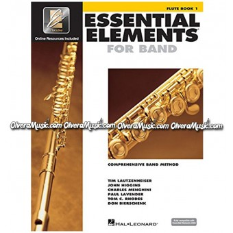ESSENTIAL ELEMENTS For Band - Flauta Libro 1