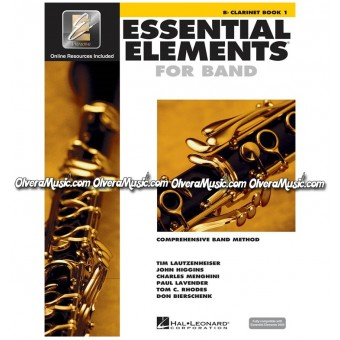 ESSENTIAL ELEMENTS For Band - Clarinet Book 1