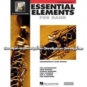 ESSENTIAL ELEMENTS For Band - Clarinet Book 2