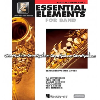 ESSENTIAL ELEMENTS For Band - Alto Saxophone Book 2