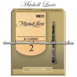 RICO Mitchell Lurie Cañas p/Clarinete - Caja de 10