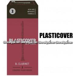 PLASTICOVER Cañas Bb p/Clarinete - Caja de 5