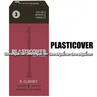 PLASTICOVER Bb Clarinet Reeds - Box of 5