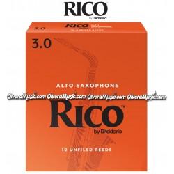 RICO Cañas p/Saxofon Alto - Caja de 10
