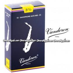 VANDOREN Cañas p/Saxofón Alto - Caja de 10