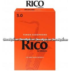 RICO Cañas p/Saxofón Tenor - Caja de 10