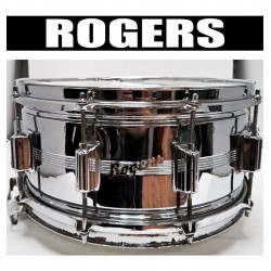 ROGERS 14x6.5 Dyna-Sonic Snare 10-Lug (USED)