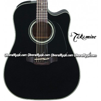 TAKAMINE G30 Series Acoustic/Electric 6-String Guitar - Gloss Black