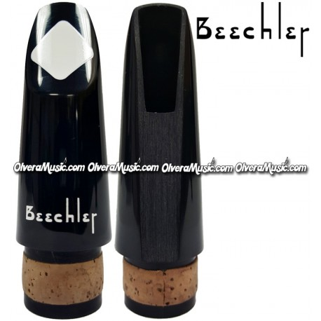 BEECHLER Clarinet Mouthpiece White Diamond Inlay
