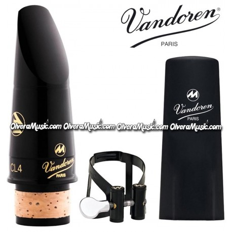 VANDOREN Masters CL4 Clarinet Mouthpiece - CL4 Masters M/O