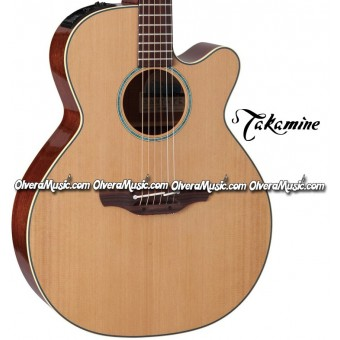 TAKAMINE Legacy Series Acoustic/Electric 6-String Guitar - Gloss Natural