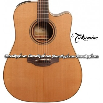 TAKAMINE Pro Series 3 Acoustic/Electric 6-String Guitar - Satin Natural
