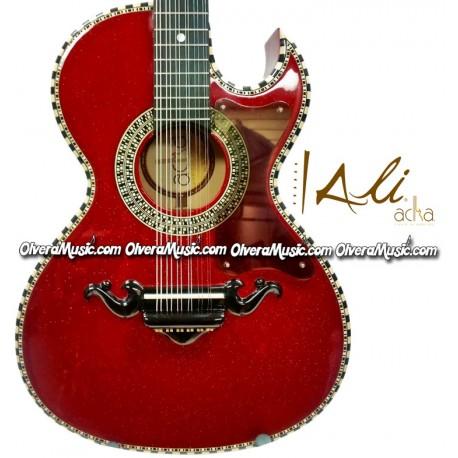 ALI ACHA 12-String Bajo Quinto Style Acoustic Guitar