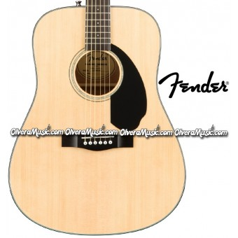 FENDER Dreadnought Acoustic Guitar - Natural