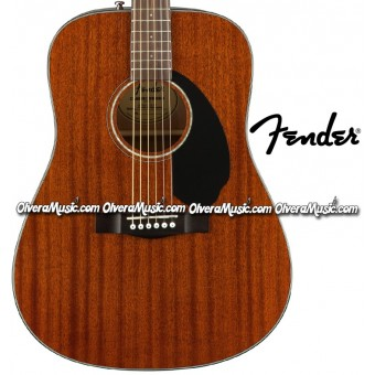 FENDER Dreadnought Acoustic Guitar - Mahogany