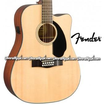 FENDER 12-String A/E Guitar - Natural