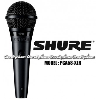 SHURE Vocal Microphone