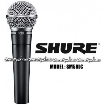 SHURE Vocal Microphone - Cardioid Dynamic