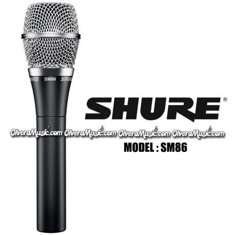 SHURE Cardioid Condenser Vocal Microphone
