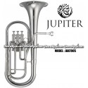 JUPITER Eb Alto Horn - Silver Plate Finish