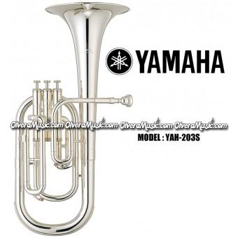 YAMAHA Eb Alto Horn - Silver Plate Finish