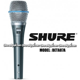 SHURE Supercardioid Condenser Vocal Microphone