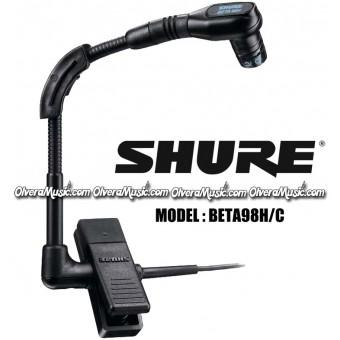 SHURE Mini Condenser Instrument Microphone