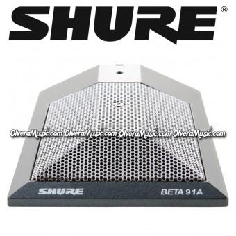 SHURE Half-Cardioid Condenser Kick Drum Microphone