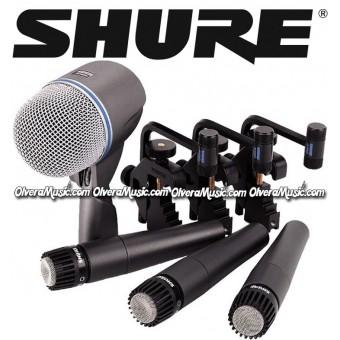 SHURE Kit de Micrófonos para Batería
