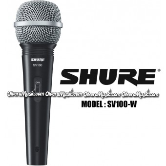 SHURE Multi-Purpose Cardioid Dynamic Microphone w/Cable