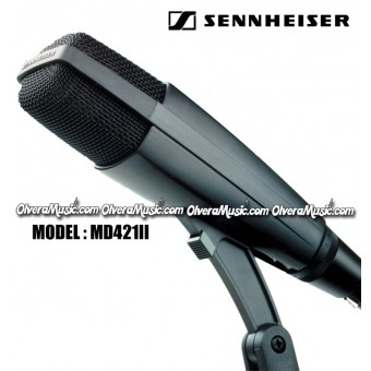 SENNHEISER Large Diaphragm Dynamic Microphone