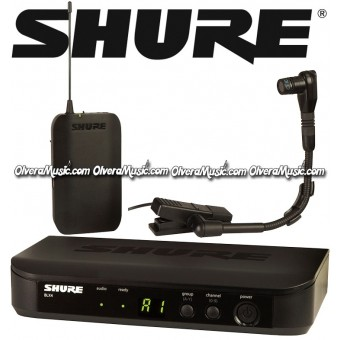 SHURE Wireless System - Instrument Microphone