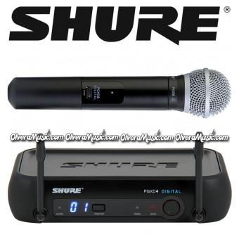 SHURE Vocal Digital Wireless Handheld System - PG58 Vocal System