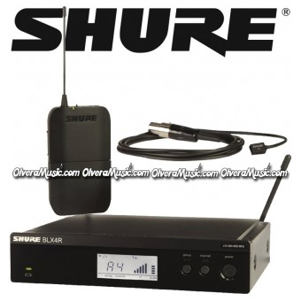 SHURE Rack Mount Lavalier Wireless System