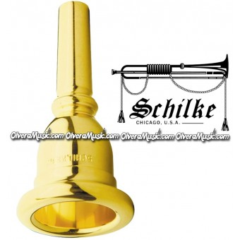 Schilke Serie Standard Gold Plate Sousaphone Mouthpiece