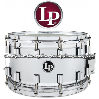 "LP Banda Snare 14""x8"" Chrome Finish 12-Lug"