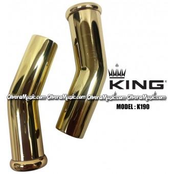 KING Sousaphone/Tuba Bits (Set of 2) - Lacquer Finish
