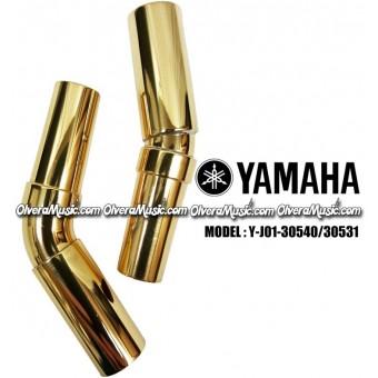 YAMAHA Sousaphone/Tuba Bits (Set of 2) - Lacquer Finish