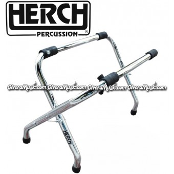 HERCH Turbo Bass Drum Stand Stainless Steel (22X24)