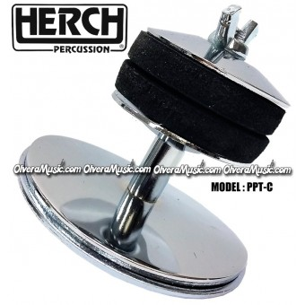 HERCH Cymbal Holder - Chrome