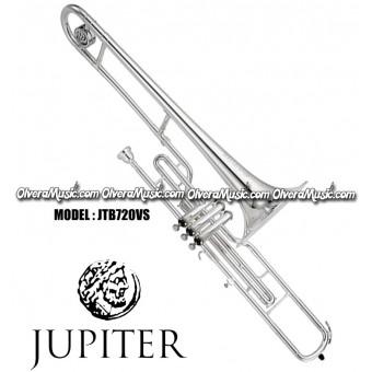 JUPITER Valve C Trombone - Silver Plate Finish