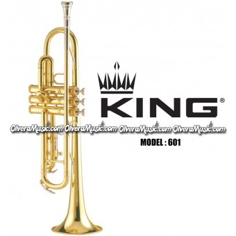 KING Bb Student Model Trumpet - Lacquer Finish