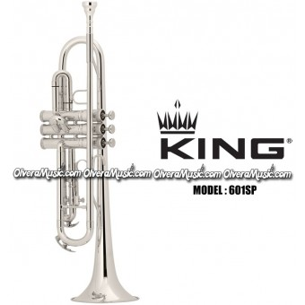 KING Bb Student Model Trumpet - Silver Plate Finish