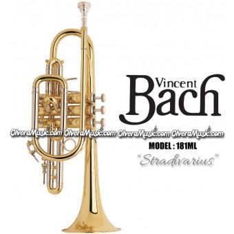 "BACH ""Stradivarius"" Professional Cornet - Lacquer Finish"