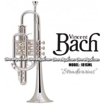 "BACH ""Stradivarius"" Corneta Profesional - Plateada"