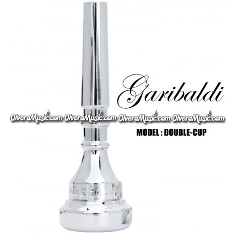 GARIBALDI Trumpet Mouthpiece Double-Cup