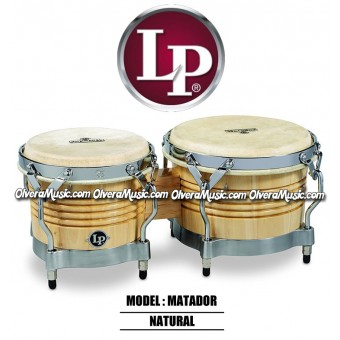 LP Matador wood Bongos